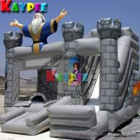 Wholesale Wizard castle Combo ,inflatable bouncer with slide,inflatable combo game KCB019 from china suppliers