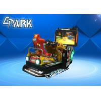 Wholesale Interactive Rocking Seat Arcade Racing Game Machine With 55 Inch Screen from china suppliers