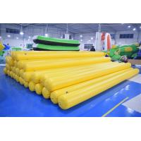 Wholesale 4.5m Long Inflatable Swim Buoy For Pool / Inflatable Tube With Anchor Ring from china suppliers
