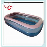 China Indoor Rectangular Pvc Inflatable Swimming Pools For Adults on sale