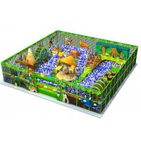 Wholesale Ball Pits Theme Indoor Play Area Equipment / Children Indoor Playground 13.75*10*10m Size from china suppliers