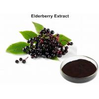 Wholesale Elderberry Fruit Anthocyanin Extract Powder 25% Anthocyanins UV Diuretic And Stop Bleeding from china suppliers