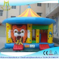 Hansel top quality tiger china inflatable bouncy castle sport game