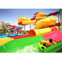 China Adult Outdoor Water Slides Large Customized For Holiday Resort / Aqua Park on sale