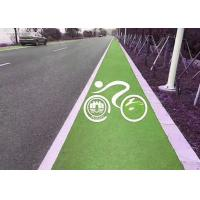 Wholesale Durable Bicycle / Synthetic Jogging Track Weatherable Commercial EPDM Crumb Rubber from china suppliers