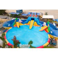 Commercial Inflatable Water Park Playground Commercial Water Park With Blower