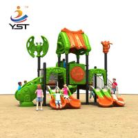 Safety Kids Playground Slide Galvanized Steel Pipe Apply To 3 - 15 Years Old