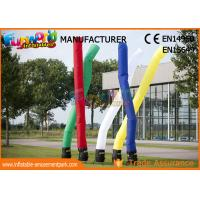 China 3M - 5M Inflatable Air Dancer / Man Parachute Nylon Inflatable Advertising Tube on sale