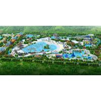 Wholesale Customization Water Park Resort for Kids / Adults Play Park 30000 SQM from china suppliers