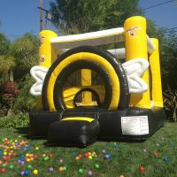 China Inflatable Toys Inflatable Bouncer Duralite Busy Bee Party Blow Up Bouncers on sale