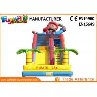 Wholesale Excting Inflatable Dry Slide , Combo Game Inflatable Pirate Slide from china suppliers