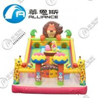Wholesale Waterproof Inflatable Slide Animal Paradise Jumping Bouncer Anti UV No Fading from china suppliers