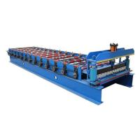 Wholesale 1050 Coated Steel Sheet Making Machine Wall Panel And Roof Forming Machine from china suppliers