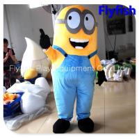 Wholesale adult despicable me minion mascot costume from china suppliers
