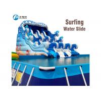 Wholesale Commercial PVC Inflatable Slide Customized Size For Amusement Water Park from china suppliers