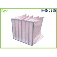 Wholesale Air Treatment F7 Bag Air Filters 100°C Max Operating Temperature BAF01 from china suppliers