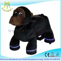 Wholesale Hansel stuffed animals with wheel ride on toy walking lion from china suppliers