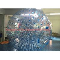 China Giant Clear Inflatable Human Sized Hamster Ball Zorbing Water Walking For Playground on sale