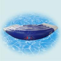 Wholesale ODM Blue jumping Inflatable Water Park Case for kids waterproof from china suppliers