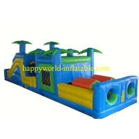 Wholesale giant inflatable obstacle course,inflatable playground on sale, playground rentals from china suppliers