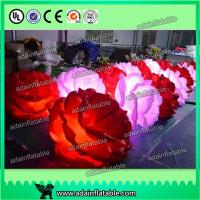 Wholesale Hot Selling Wedding Event Stage Decoration Inflatable Peony Flower Chain With LED Light from china suppliers