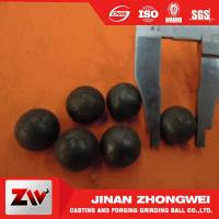 Wholesale ISO9001 2008 Hot rolling steel balls for ball mill for cement , Mine and power plant from china suppliers