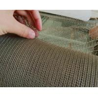 China 8 Mm-1200mm Stainless Steel Knitted Wire Mesh Environmental Protection on sale