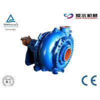 China Simple Design Hydraulic Dredge Pump , Rubber Slurry Pump Abrasion Resistance on sale