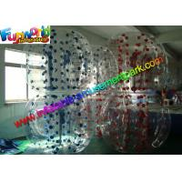 Quality Clear Strong Loopy Inflatable Bubble Ball Durable With Silk Printing for sale