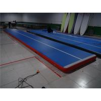China Fire Retardant Inflatable Tumble Track Air Track Floor Quick  Inflatable Time on sale