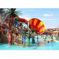 Wholesale Super Whirlwind Water Slide Aqua Fiberglass Theme Park Equipment from china suppliers