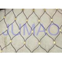 Wholesale Thin Fall Protection Architectural Metal Fabric Easy To Install For Partition from china suppliers