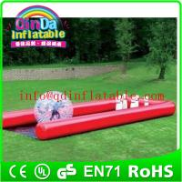 Wholesale QinDa Inflatable human sized hamster ball human zorbing ball hamster zorb ball from china suppliers