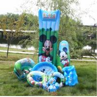 Wholesale Mickey Mouse Inflatable Air Mattress And Boxing Tumbler For Kids from china suppliers