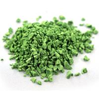 Wholesale Wear Resistant Artificial Grass Rubber Granules , Rubber Pellets On Football Fields from china suppliers
