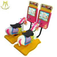 Buy cheap Hansel amusement park playground equipment coin operated children toys car from wholesalers