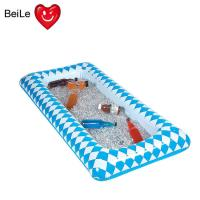 Buy cheap 90cmL blue Lattice inflatable ice table with PVC material from wholesalers