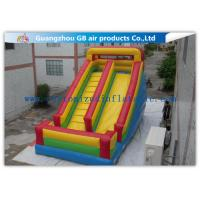Wholesale Classics Inflatable Water Slides For Big Kids , Moonwalk Water Slide For Sports Jumping from china suppliers