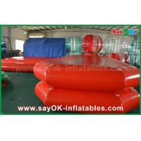 Wholesale Red PVC Inflatable Water Pool Air Tight Swimming Pond For Children Playing from china suppliers