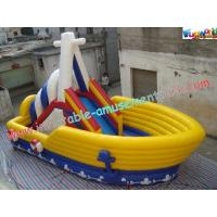 Wholesale Commercial Inflatable Pirate Slide , Inflatable Jumping Slide For Child from china suppliers