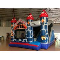 Wholesale 5 in 1 inflatable combo classic inflatable European bouncy castle inflatable jumping castle house with slide inside sale from china suppliers