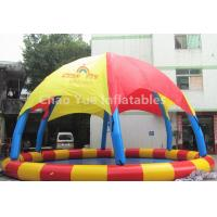 Wholesale Commerical Grade 8m Diameter Inflatable Water Swimming Pool Tent for water park from china suppliers