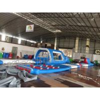 China Customized Type Giant Inflatable Water Playground , Floating Water Park on sale