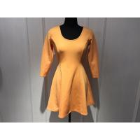 China Slim Waist Womens Wrap Dresses Breathable With Woven Spandex BGW002 on sale