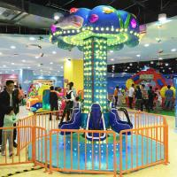 Wholesale Mini Kids Sky Drop Ride / Sky Tower Ride 360 Degree Height 3.4m from china suppliers