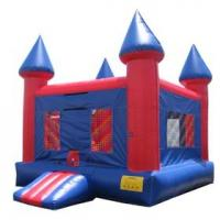 Buy cheap Airflow 0.55mm PVC Tarpaulin 3 layers Commercial Inflatable Bouncy Castle YHCS from wholesalers