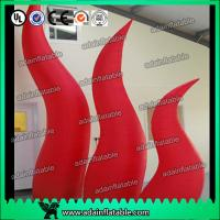 Wholesale Holiday Party Entrance Decoration Inflatable Tentacle Cone RED Inflatable Flame from china suppliers