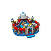 Buy cheap Spaceship Themed Inflatable Fun City Round Shape For Amusement Park New Design from wholesalers