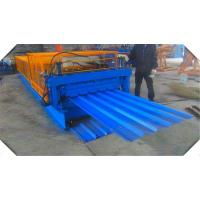 Wholesale IBR Corrugated Profile Color Steel Roll Forming Machine 10-15 Meter/Min Easy Operation from china suppliers