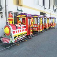 Wholesale Square rides train track train sightseeing train small train ride equipment from china suppliers